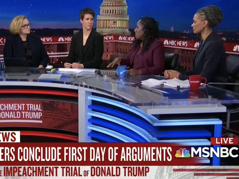 Sherrilyn Ifill on a panel on MSNBC