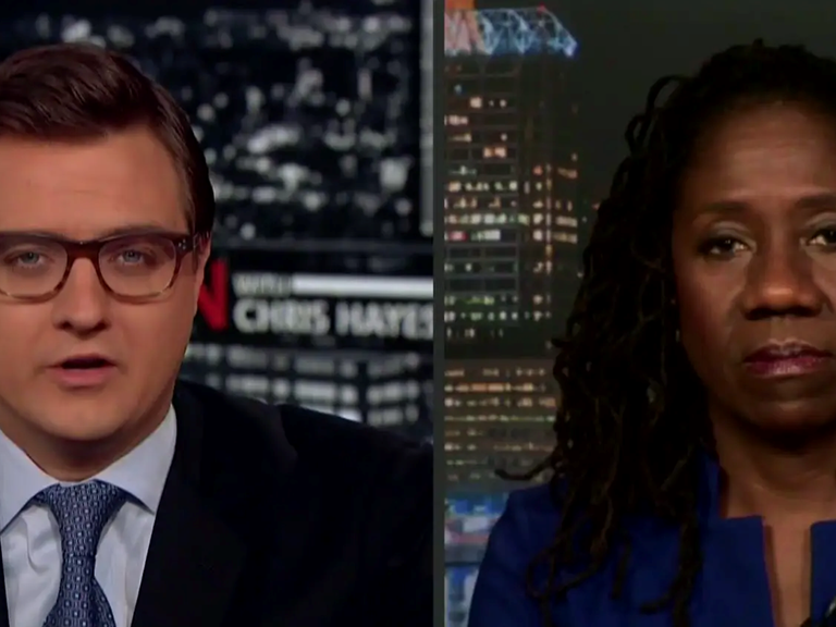 Sherrilyn Ifill joins Chris Hayes on MSNBC's All in with Chris Hayes