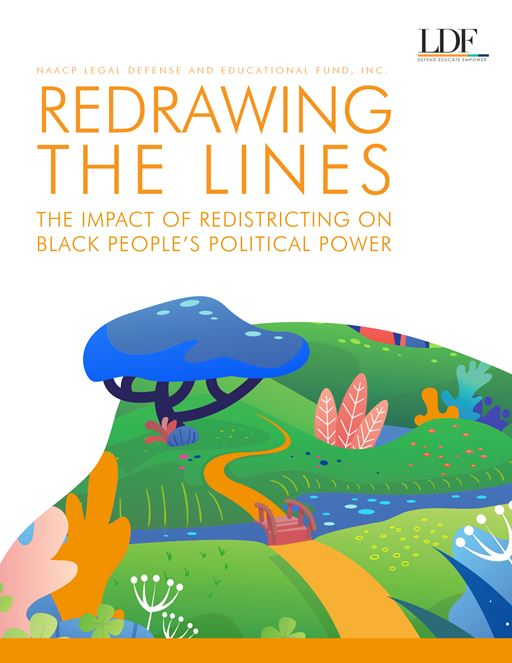 Cover of Redrawing the Lines brochure