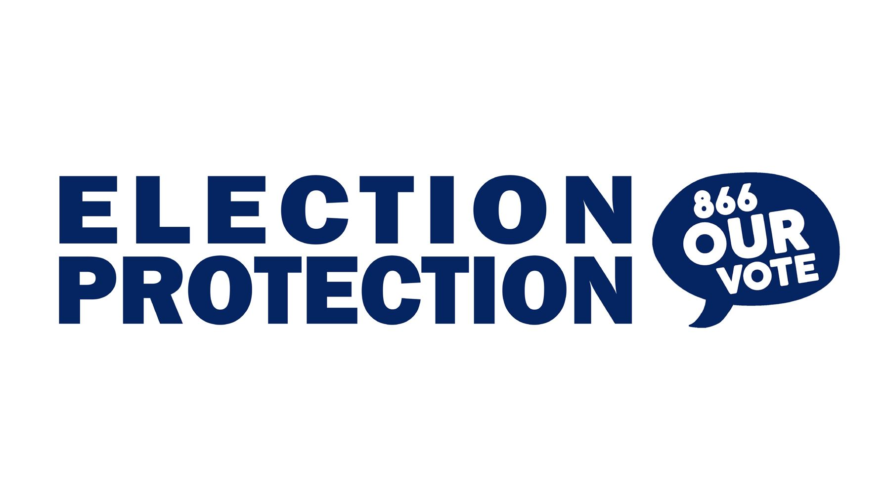 Election Protection 866-our-vote logo